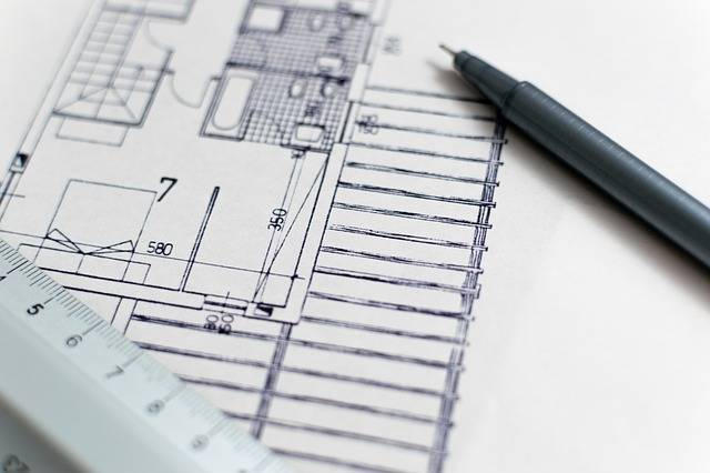 Architecture Blueprint Floor Plan - Free photo on Pixabay (429388)