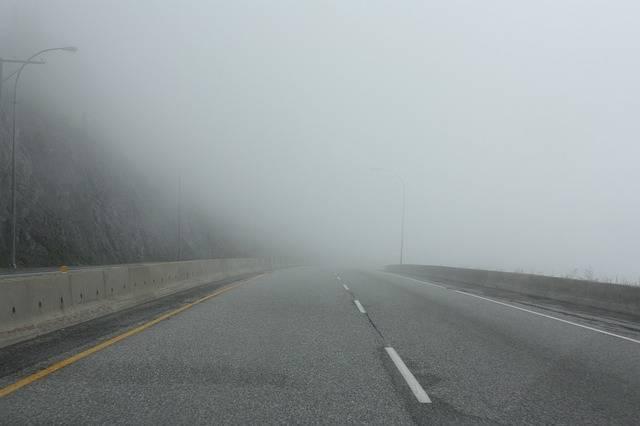 Fog Road - Free photo on Pixabay (429748)