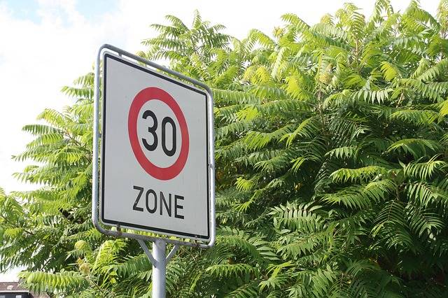 Speed Limitation 30 Zone Mark - Free photo on Pixabay (429760)