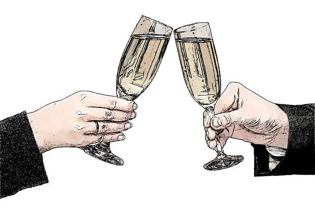 Champagne Glasses - Free image on Pixabay (429899)