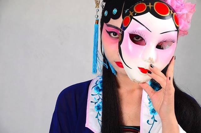 Beijing Opera Mask China - Free photo on Pixabay (435337)