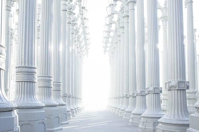 Columns Hallway Architecture - Free photo on Pixabay (435341)