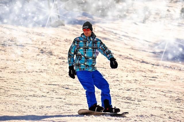 Snowboarding Man Winter Extreme - Free photo on Pixabay (435362)