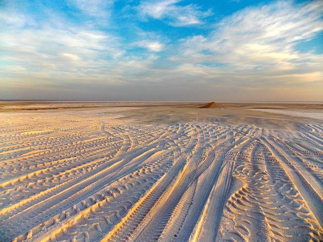 Landscape Sun Desert Traces Of - Free photo on Pixabay (437010)