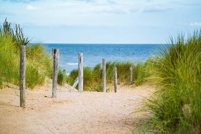 Thin Sea Fence - Free photo on Pixabay (438029)
