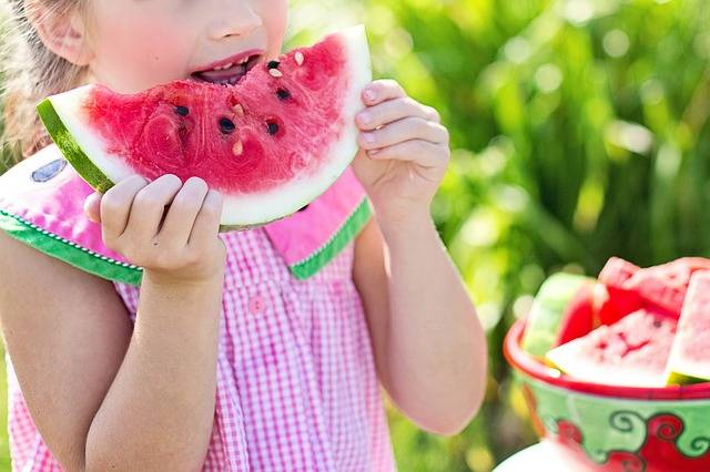 Watermelon Summer Little Girl - Free photo on Pixabay (438514)