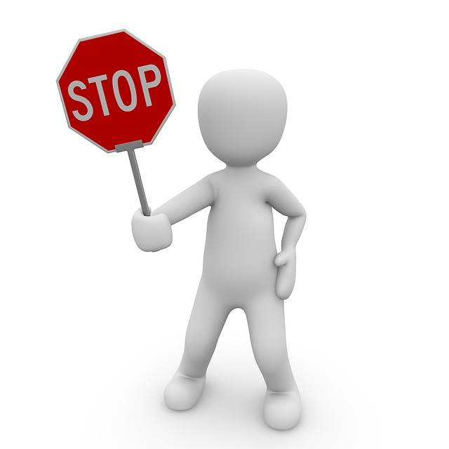 Stop Containing Street Sign - Free image on Pixabay (438885)