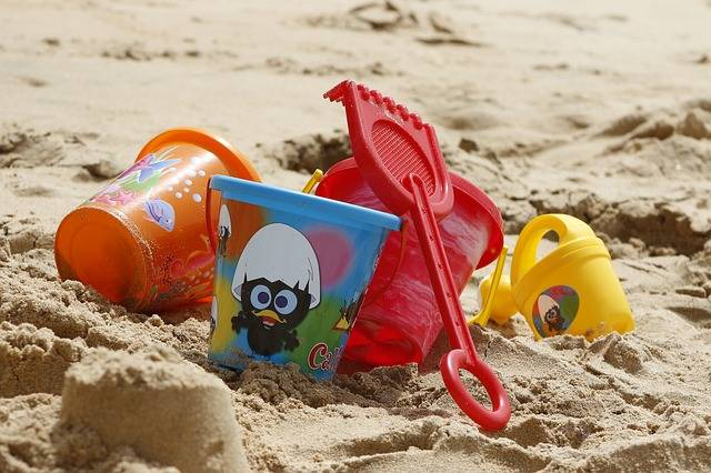 Bucket Toys Sand - Free photo on Pixabay (439481)
