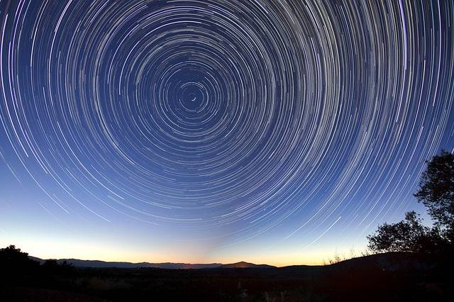 Star Trails Night Long Exposure - Free photo on Pixabay (439872)