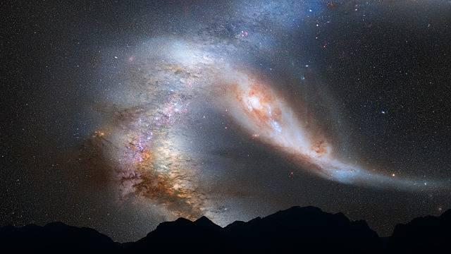 Andromeda Galaxy Milky Way - Free photo on Pixabay (439893)