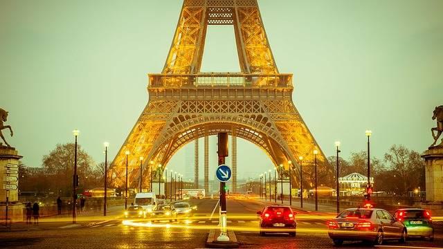 Eiffel Tower Long Exposure Lights - Free photo on Pixabay (440660)