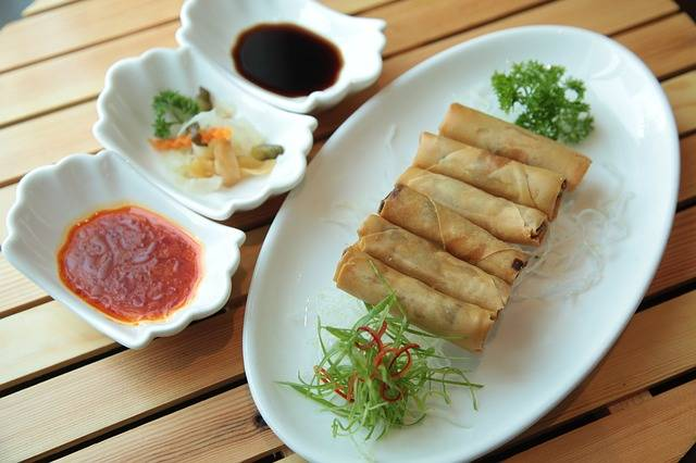 Spring Rolls Chinese Cuisine - Free photo on Pixabay (440811)