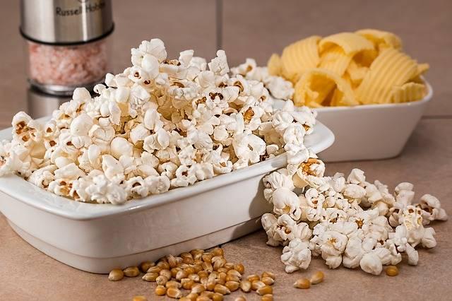 Popcorn Snack Salty - Free photo on Pixabay (440951)