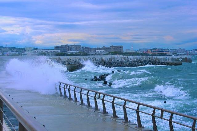 Typhoon Sea Storm - Free photo on Pixabay (440959)