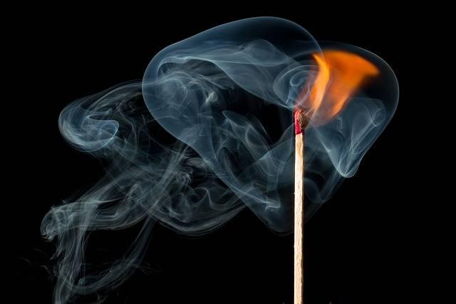 Fire Smoke Match - Free photo on Pixabay (441479)