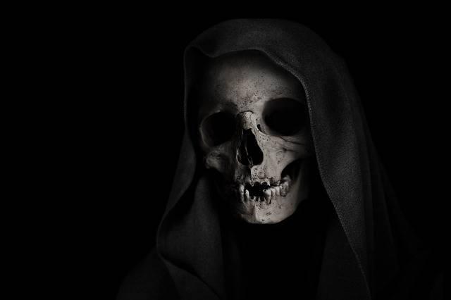 Grim Reaper Skull Death - Free photo on Pixabay (441547)