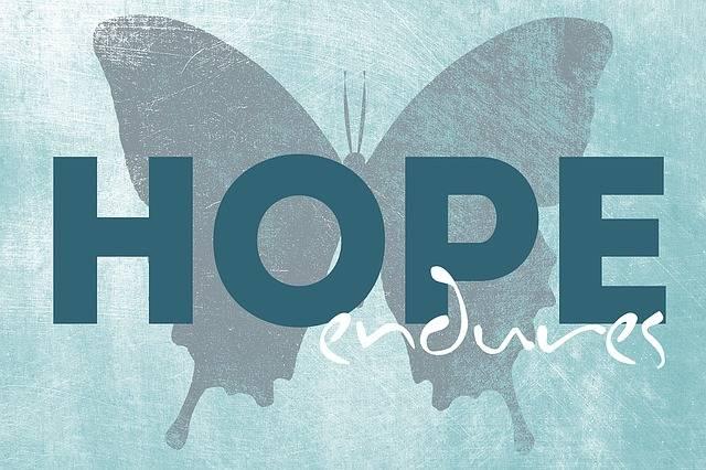 Quotes Hope Endures - Free image on Pixabay (441888)