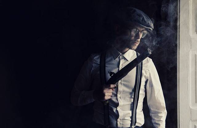 Gun Gangster Mafia - Free photo on Pixabay (442867)