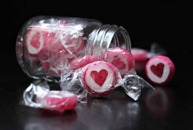 Candy Heart - Free photo on Pixabay (443550)