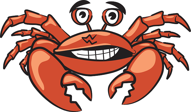 Crab Crustacean Shellfish - Free vector graphic on Pixabay (443659)