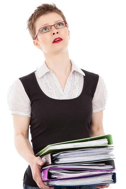 Clerk Business Woman - Free photo on Pixabay (444879)