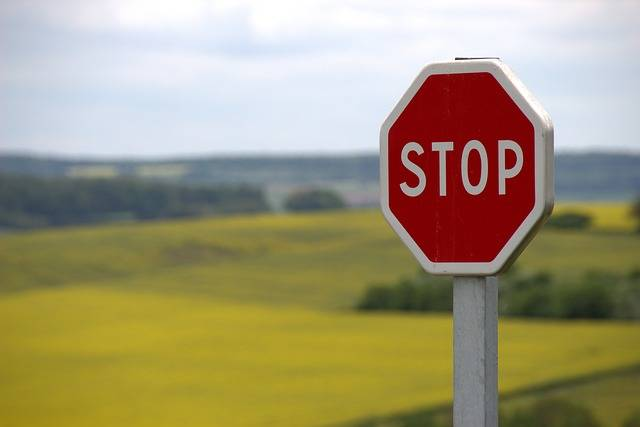 Stop Shield Traffic Sign Road - Free photo on Pixabay (446839)