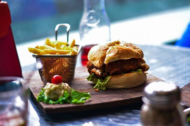 Food French Fries Burger - Free photo on Pixabay (446868)