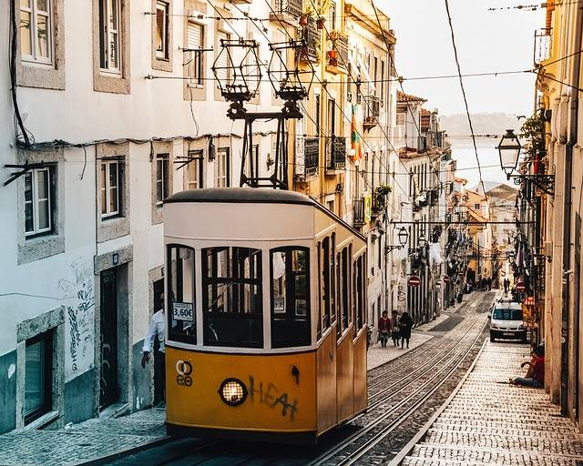 Trolley Tram Tramway Street - Free photo on Pixabay (446997)