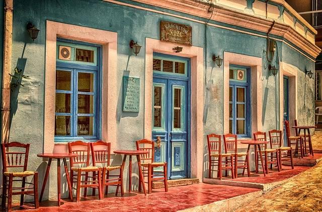 Cafe Architecture Building - Free photo on Pixabay (446998)