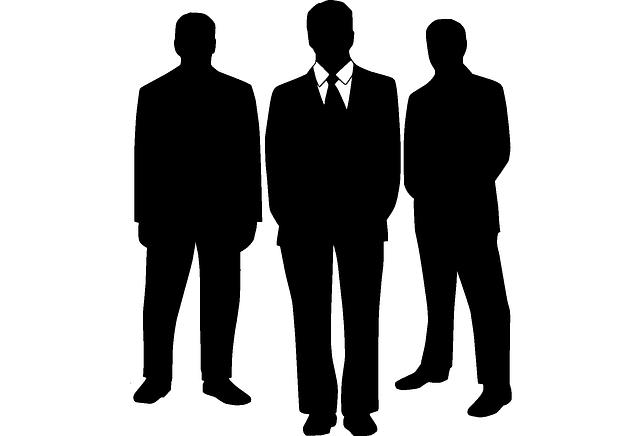 Business Men Black - Free vector graphic on Pixabay (449410)