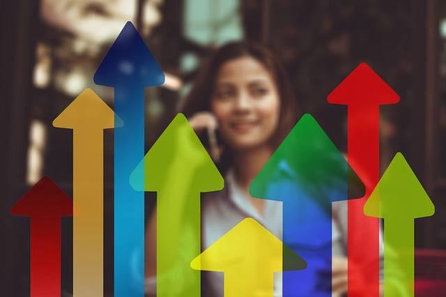 Arrows Trend Businesswoman - Free photo on Pixabay (450955)
