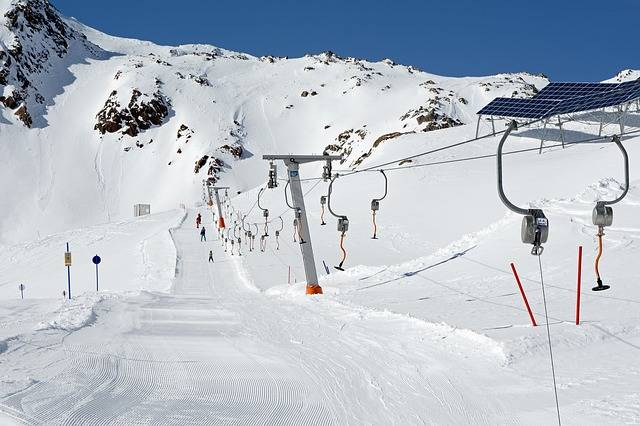 Ski Lift Skiing Winter - Free photo on Pixabay (450968)