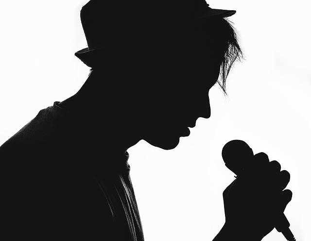 Silhouette Musician Vocalist - Free photo on Pixabay (451260)