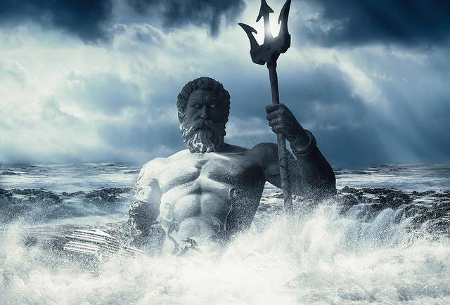Poseidon Sea Wallpaper - Free photo on Pixabay (451279)