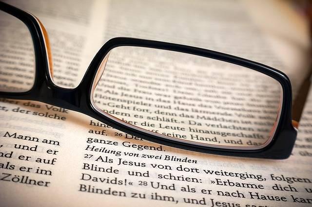 Bible Glasses Healing - Free photo on Pixabay (453071)