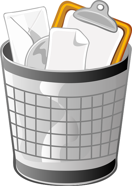 Trash Can Wastebasket Receptical - Free vector graphic on Pixabay (453237)