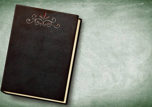 Book Embossing Leather - Free photo on Pixabay (453625)