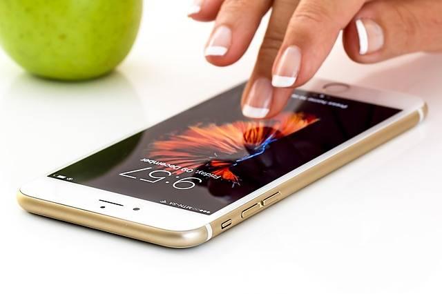 Smartphone Cellphone Apple I Phone - Free photo on Pixabay (453931)