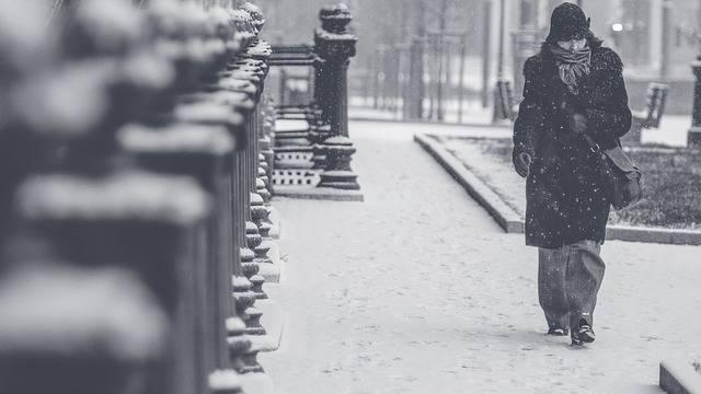 Blizzard Snow Woman Winter - Free photo on Pixabay (454036)