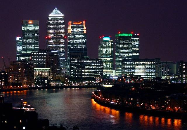 City Building Night View - Free photo on Pixabay (455492)