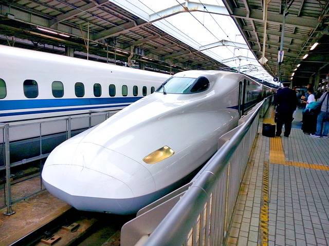 Bullet Train Shinkansen Railway - Free photo on Pixabay (457002)