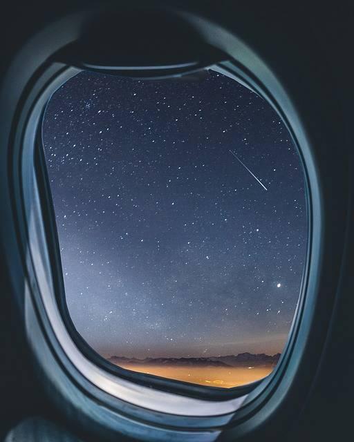 Airplane Window Milkyway - Free photo on Pixabay (457003)