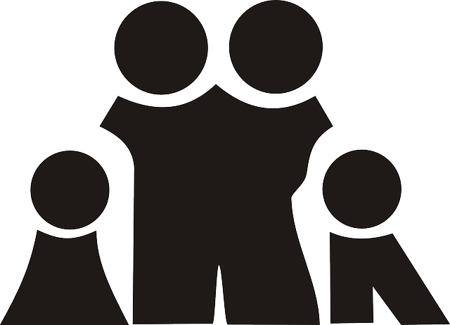 Family Black Silhouette - Free vector graphic on Pixabay (457071)