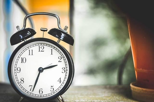 Clock Time Alarm - Free photo on Pixabay (457613)
