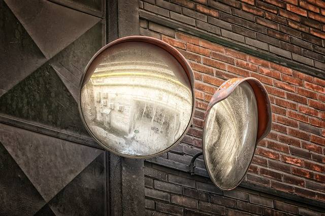 Mirror Traffic Caution Exit - Free photo on Pixabay (459807)