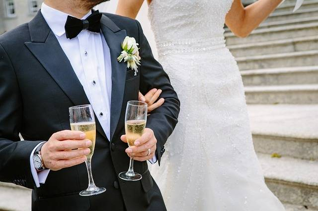 Bride Ceremony Champagne - Free photo on Pixabay (460387)