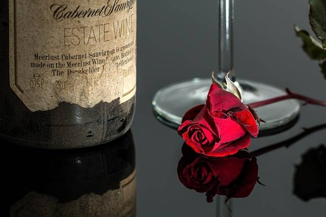 Rose Wine Red - Free photo on Pixabay (460504)