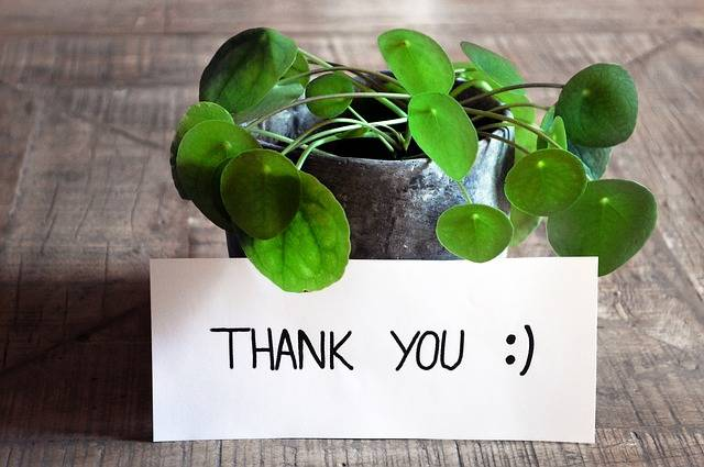 Thank You Card Table - Free photo on Pixabay (460955)