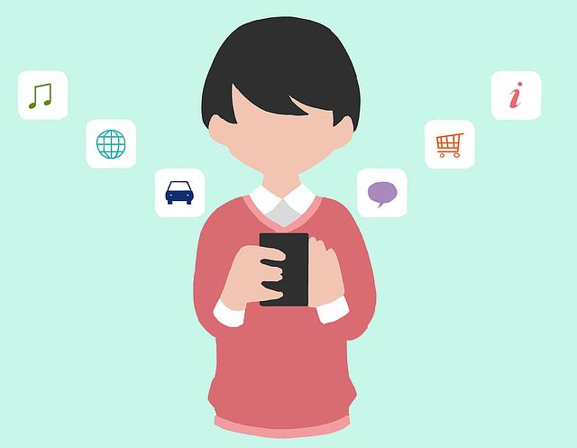 Smartphone App Japanese - Free image on Pixabay (461216)