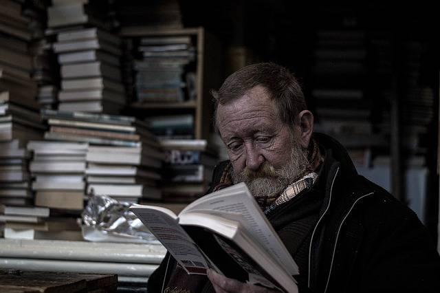 Reading Bookworm Man - Free photo on Pixabay (462047)